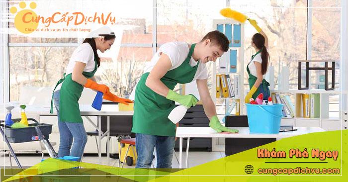Dịch vụ dọn dẹp vệ sinh nhà cửa, văn phòng theo giờ trọn gói tại Hà Nội
