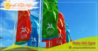 Xưởng may & in ấn cờ vải theo yêu cầu giá rẻ tại tỉnh Ninh Bình