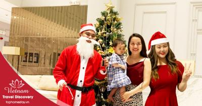 Dịch vụ thuê ông già Noel tặng quà cho bé tại quận Phú Nhuận