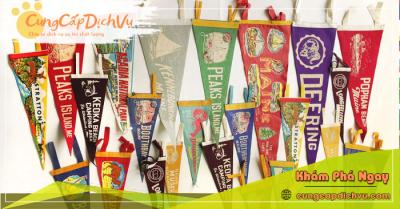 Xưởng may & in ấn cờ vải theo yêu cầu giá rẻ tại tỉnh Bắc Giang