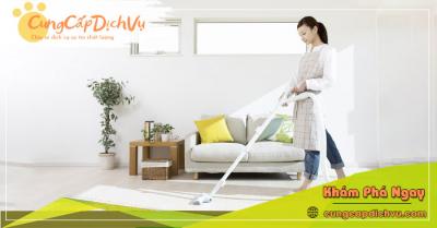 Dịch vụ dọn dẹp vệ sinh nhà cửa, văn phòng theo giờ trọn gói tại Vĩnh Long