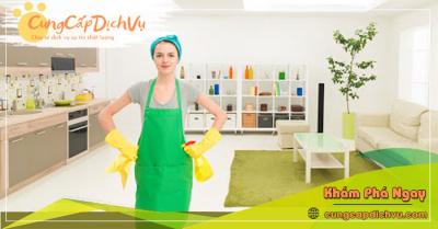 Dịch vụ dọn dẹp vệ sinh nhà cửa, văn phòng theo giờ trọn gói tại Trà Vinh