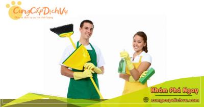 Dịch vụ dọn dẹp vệ sinh nhà cửa, văn phòng theo giờ trọn gói tại Tiền Giang