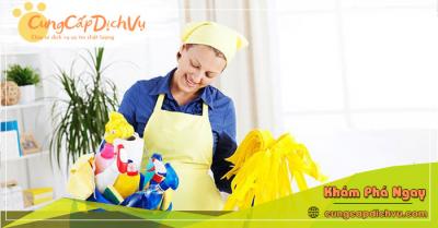 Dịch vụ dọn dẹp vệ sinh nhà cửa, văn phòng theo giờ trọn gói tại Thanh Hóa