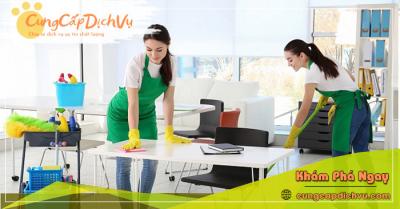 Dịch vụ dọn dẹp vệ sinh nhà cửa, văn phòng theo giờ trọn gói tại Thái Nguyên