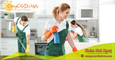 Dịch vụ dọn dẹp vệ sinh nhà cửa, văn phòng theo giờ trọn gói tại Sơn La