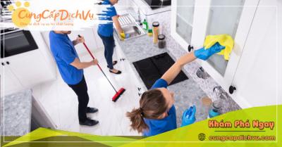 Dịch vụ dọn dẹp vệ sinh nhà cửa, văn phòng theo giờ trọn gói tại Sóc Trăng
