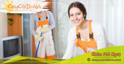 Dịch vụ dọn dẹp vệ sinh nhà cửa, văn phòng theo giờ trọn gói tại Hải Phòng