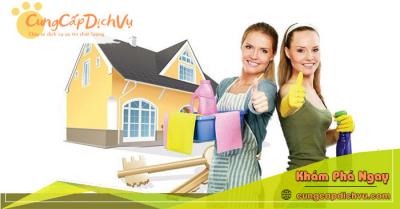 Dịch vụ dọn dẹp vệ sinh nhà cửa, văn phòng theo giờ trọn gói tại Đà Nẵng