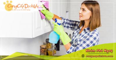 Dịch vụ dọn dẹp vệ sinh nhà cửa, văn phòng theo giờ trọn gói tại Cần Thơ