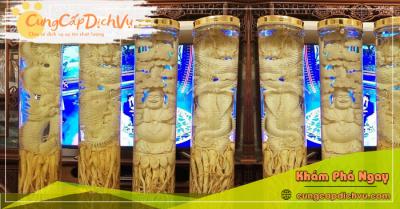 Mua bán Lá Đinh Lăng khô, củ đinh lăng điêu khắc ngâm rượu tại Yên Bái