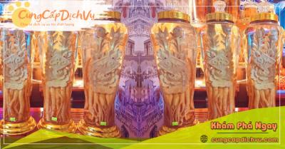 Mua bán Lá Đinh Lăng khô, củ đinh lăng điêu khắc ngâm rượu tại Đà Nẵng