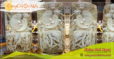 Mua bán Lá Đinh Lăng khô, củ đinh lăng điêu khắc ngâm rượu tại Hải Phòng