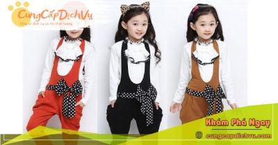 Xưởng may bỏ sỉ quần áo trẻ em giá sỉ tại Tây Ninh