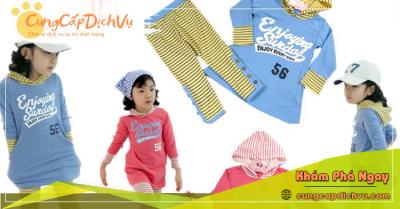 Xưởng may bỏ sỉ quần áo trẻ em giá sỉ tại Thái Nguyên