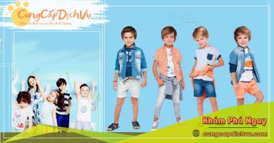 Xưởng may bỏ sỉ quần áo trẻ em giá sỉ tại Trà Vinh