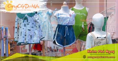 Xưởng may bỏ sỉ quần áo trẻ em giá sỉ tại Tuyên Quang