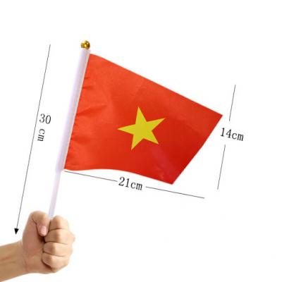 Xưởng in ấn cờ vải theo yêu cầu